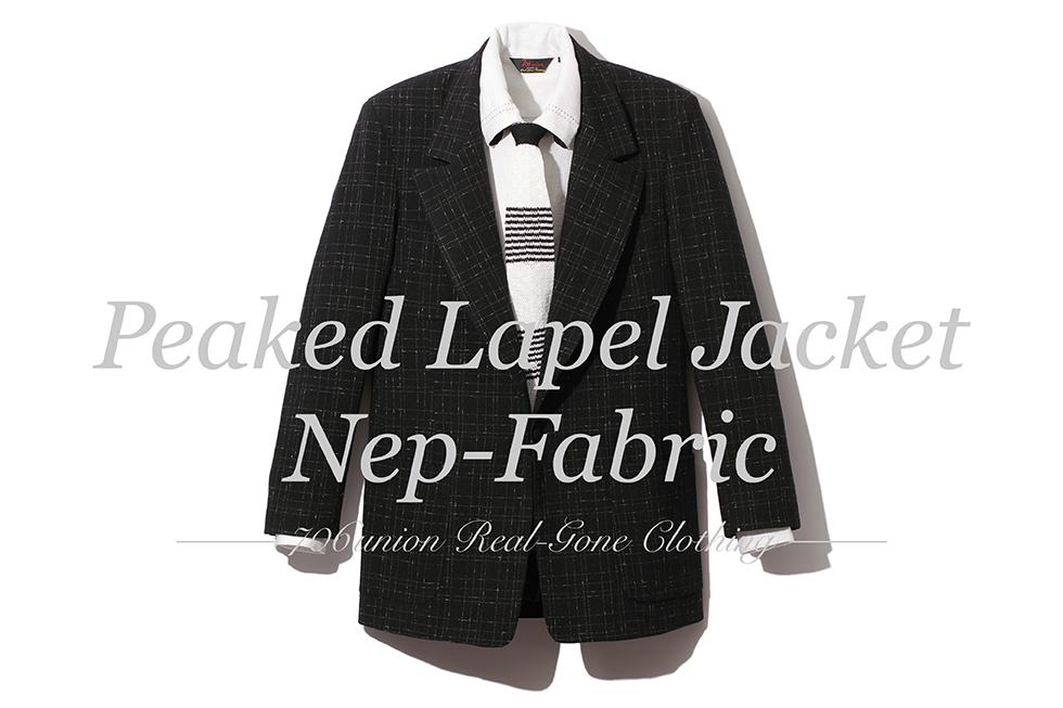 706union Peaked Lapel Jacket