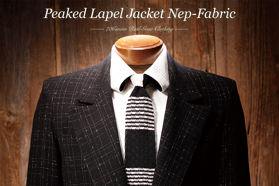 706union Peaked Lapel Jacket